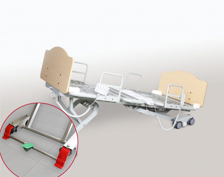 Athena Healthcare Products Inc. Socrates Bed in Trendelenberg